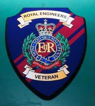 Royal Engineers Veteran Plaque